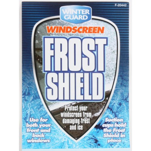 Windscreen Frost Shield Car Protection Cover Suction Pads Snow Ice