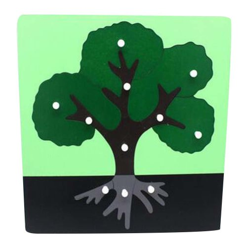 Tree,Children's Toys For 3-6 Years Old Wooden Jigsaw Puzzle Creative Puzzle Game