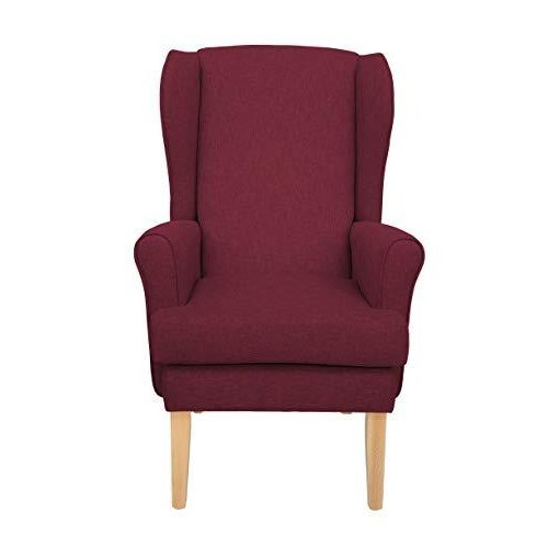 MAWCARE Highland Orthopaedic High Seat Chair - 21 x 18 Inches [Height x Width] in High Crimson (lc21-Highland_h)