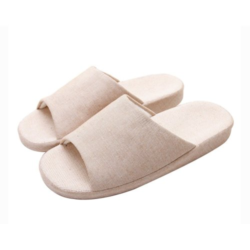 (Made By Flax)Skidproof The Simple Style Of Home Slippers
