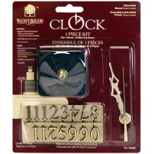"Clock 3-Piece Kit-For .375"" Surfaces"