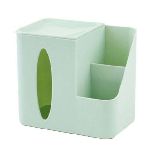 """Elegant Design PP Toilet Paper Tissue Box Paper Holder (7.5x4.7""""),Light Green"""