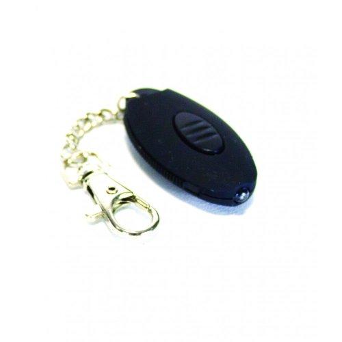 Yellowstone Mini LED Push Button Keyring Torch