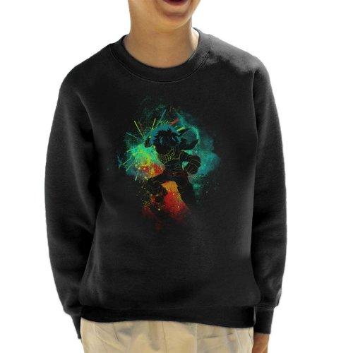 Deku Silhouette My Hero Academia Kid's Sweatshirt