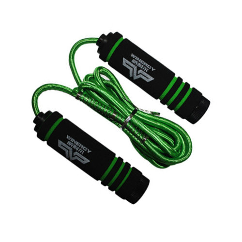 Jump Rope for Fitness Training,Athletic Speed Rope 3M Braided Rope Green