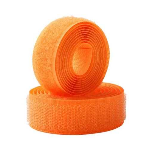 Sew On Hook And Loop Tape Fastening Nylon Fabric Tape With Non-Adhesive Back - 07