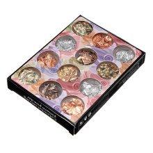12 Boxes Copper Foil Paillette Chip Nail Art Design Tips Decoration