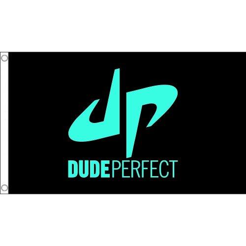 Dude Perfect DP  logo Flag  Size: 5 x 3 FT ( 150cm x 90cm)