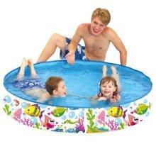 "Benross 59"" Outdoor Inflatable Swimming Paddling Pool Garden Sea World Rigid Pool"