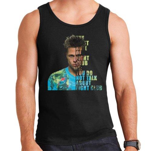 Fight Club Tyler Durden Half Head Men's Vest