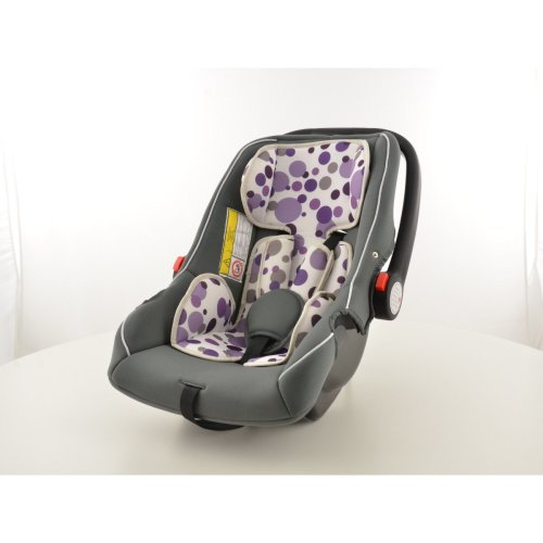 Child Car Seat child seat baby car seat black/white/purple