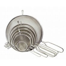 12cm Metal Tinned Strainer - Chef Aid Silver -  chef aid metal strainer 12cm tinned silver