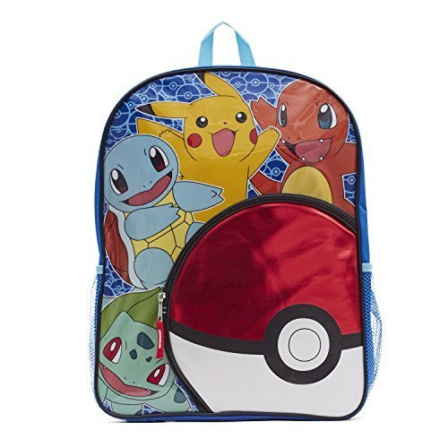 Pokemon POK-8114 Pikachu 3D Effect EVA 32cm Backpack