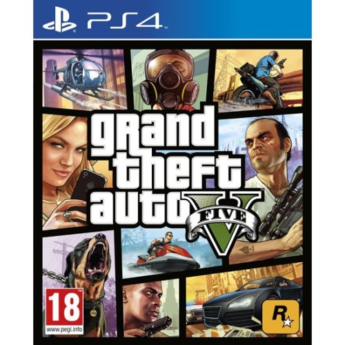 Grand Theft Auto GTA V PS4 GTA 5
