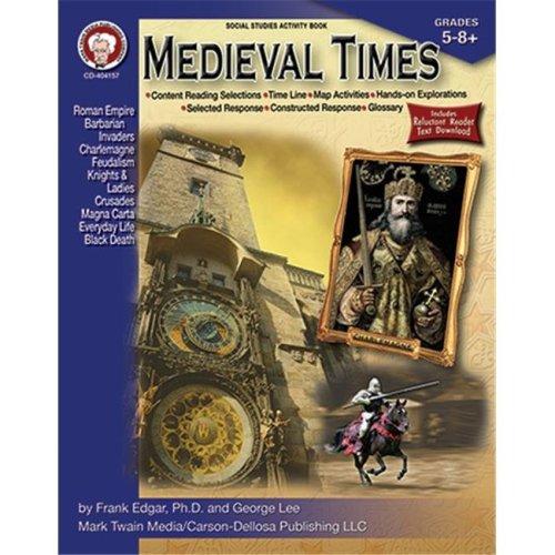 Carson Dellosa CD-404157 Medieval Times