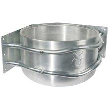 Kerbl Feed Bowl 18 L Aluminium Silver 32496