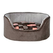 Trixie Currito Dog Bed, 100 x 75 Cm, Taupe/grey - Bed Greysalmon Various Sizes -  trixie dog bed currito greysalmon various sizes new