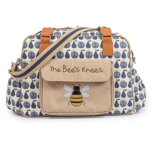 Pink Lining The Bees Knees - Apples & Pears Blue