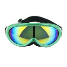 Snow Goggles Windproof Eyewear Ski Sports Goggle Protective Glasses Green/Color