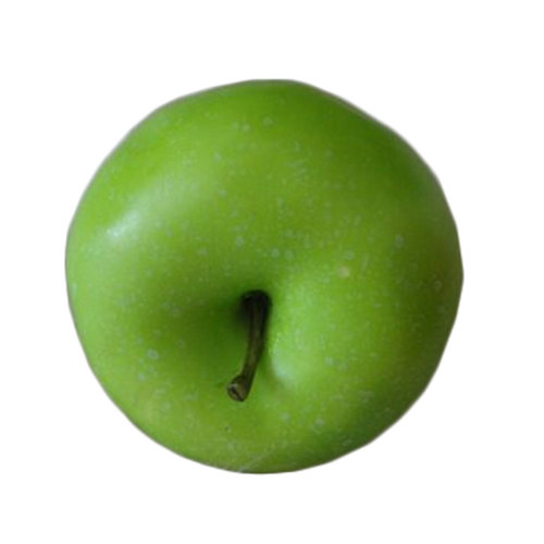 Set Of 2 Simulation Plastic Play Food Artificial Fruits, Green Apple
