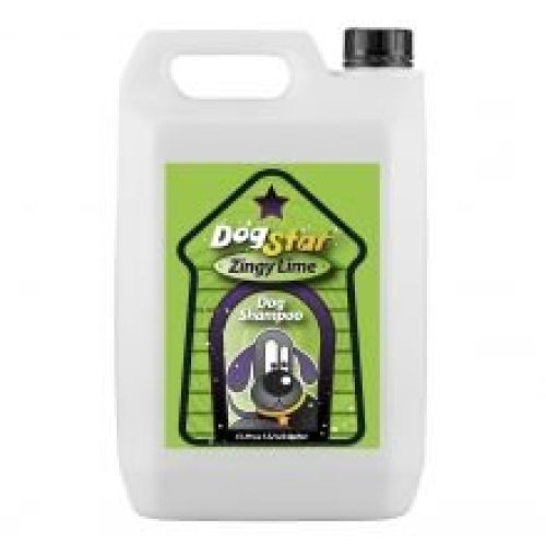 Dogstar Zingy Lime S/poo 5ltr
