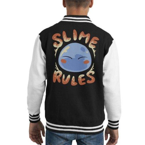 Slime Rules Kid's Varsity Jacket