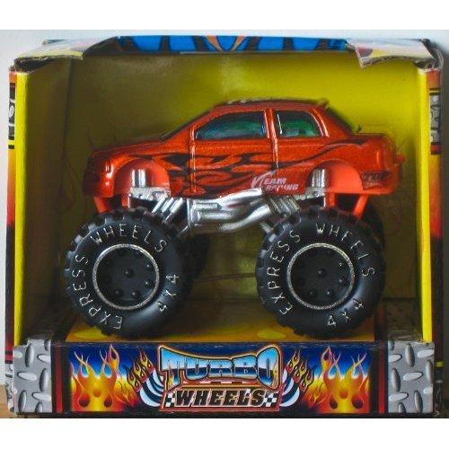 Turbo Wheels [4x4 Mini Racers] Die-cast