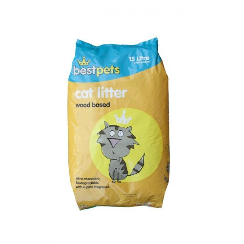 Bestpets Cat Litter Wood (15ltr)