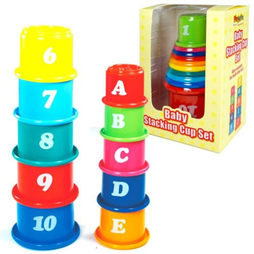 Baby Stack a Cup Game
