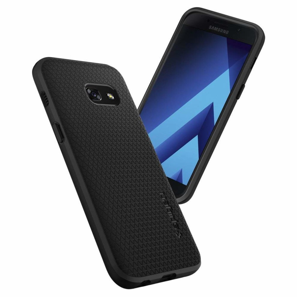 huge selection of a3847 b4f43 Spigen 572CS21140, Galaxy A3 2017 Case, Liquid Air, Black, Slim Flexible  TPU Case for Samsung Galaxy A3