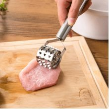 KCASA KC-MT090 Stainless Steel Meat Rolling Pounder Needle Steak Tenderizer Tender Kitchen Tools