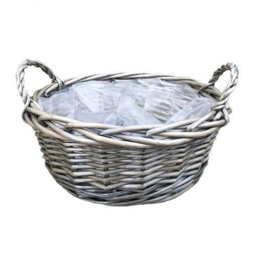 Small Round Antique Wash Display Tray