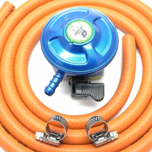 Other Igt 21Mm 28Mbar Butane Gas Regulator & 2 Metre Hose Kit With 2 Clips
