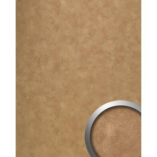 WallFace 19397 CLASSY BRONZE Design Panelling vintage glossy bronze 2.6 sqm