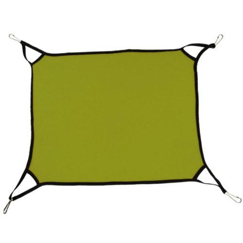 Super Soft Cat Hammock Pet Supplies Cat Beds  Cat Furniture 65 X 57 CM-Green