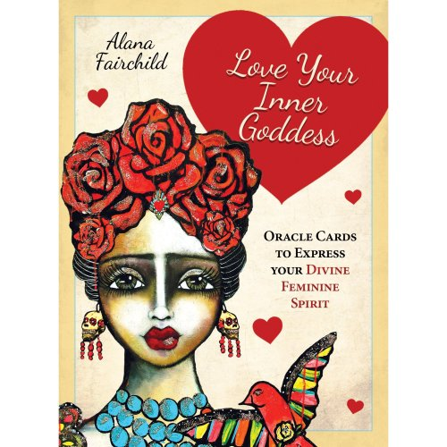 Love Your Inner Goddess: Oracle Cards to Express Your Divine Feminine Spirit - 44 full colour cards & 96 page guidebook