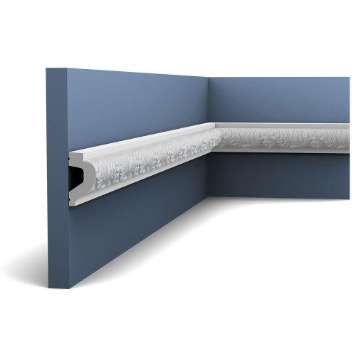 Orac Decor P3020F LUXXUS Flexible Panel Moulding Cornice Stucco | 2 m