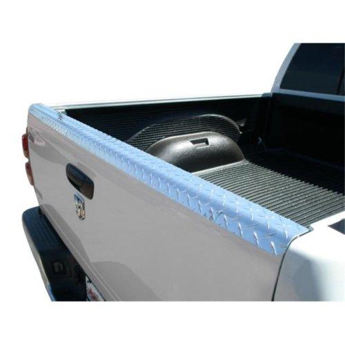 Innovative Creations TG09TB CHEVY-GMC FULLSIZE LONG BED-SHORT BED TLGT CAP TREAD BRIGHT STEEL TAILGATE CAP PROTECTOR
