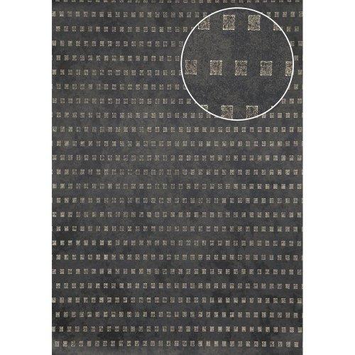Atlas ICO-5071-5 Graphic wallpaper shimmering bronze grey 7.035 sqm