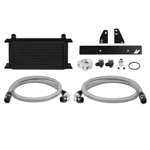 Mishimoto Nissan 370Z, 2009+ / Infiniti G37, 2008+ Oil Cooler Kit, Black