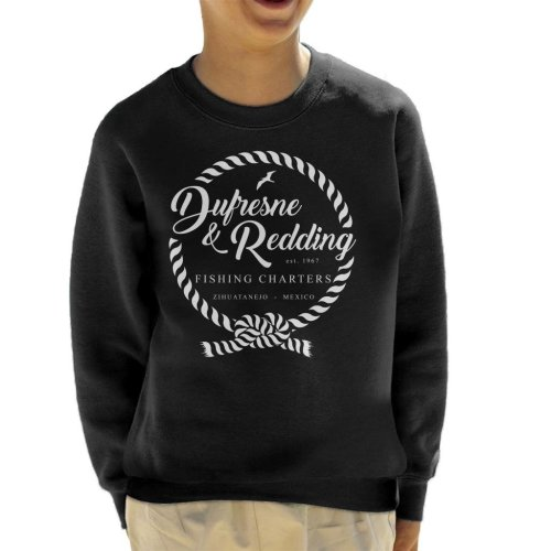 Dufresne And Redding Fishing Shawshank Redemption Kid's Sweatshirt