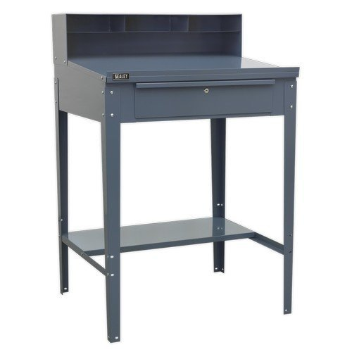 Sealey AP875 Industrial Workstation 1 Drawer - Grey
