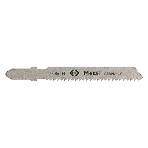 CK T0865H Jigsaw Blades For Thicker Metal Card Of 5
