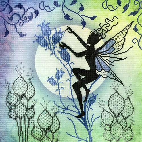 Bothy Threads Cross Stitch Kit - Harebell - Fairy design developed from artwork by Lavinia Stamps XE13P