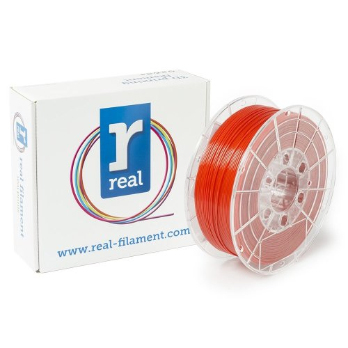 Real Filament 8719128328904 Real PETG, Spool of 1 kg, 1.75 mm, Opaque Red