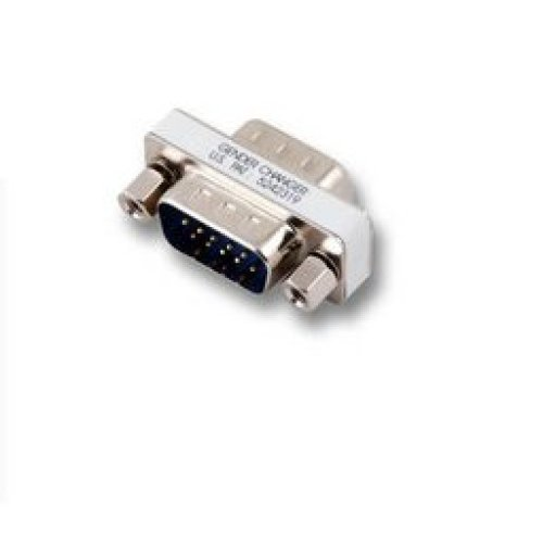 Microconnect HD15, F/M VGA VGA Silver cable interface/gender adapter