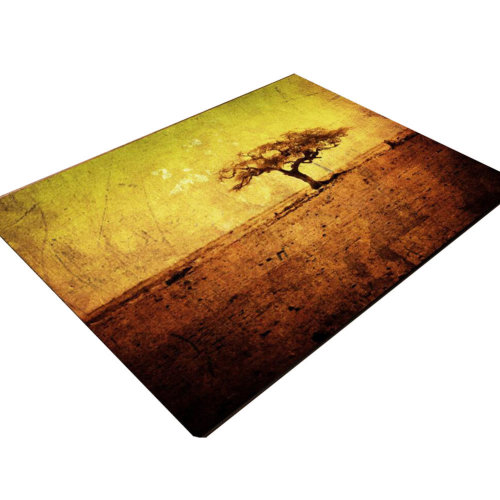 3D Coffee Table Mats Bedroom Carpet Baby Mats 80x120 CM-A Tree