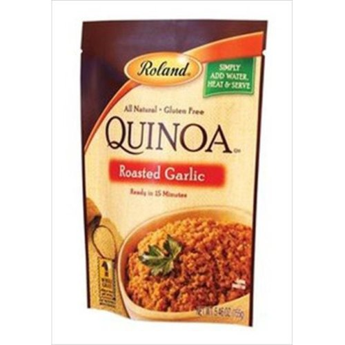 Roland Roasted Garlic Quinoa 5.46 Oz -Pack of 6