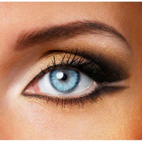Fusion Blue & Grey Contact Lenses   Natural Coloured Contact Lenses