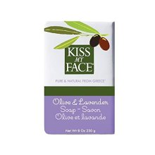 Kiss My Face Bar Soap Olive and Lavender -- 8 oz